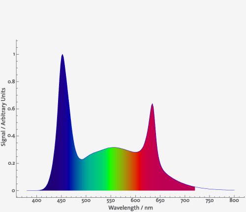 Daytime LED Ultra Blue Red White 10.000K 2