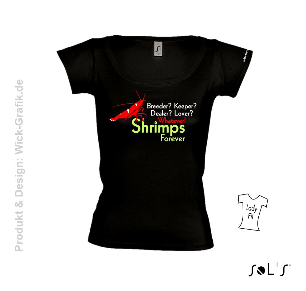T-Shirt Shrimps forever woman