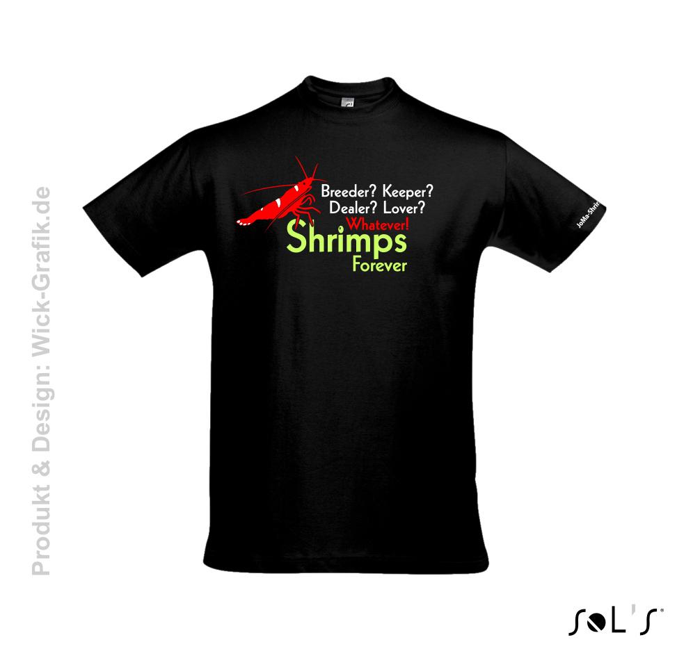 T-Shirt Shrimps forever men