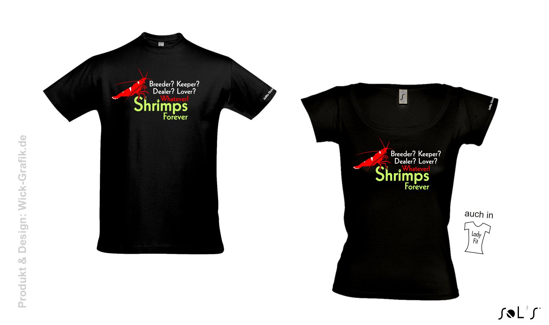 T-Shirt Shrimps forever