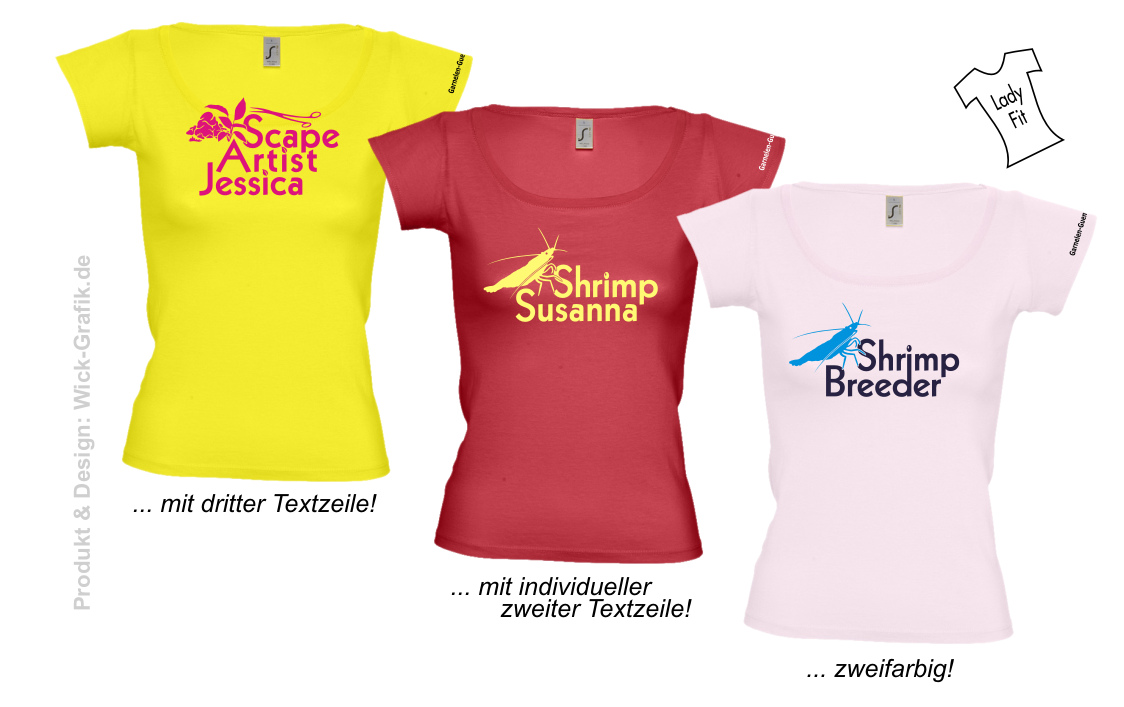 Shrimp Shirt individueller