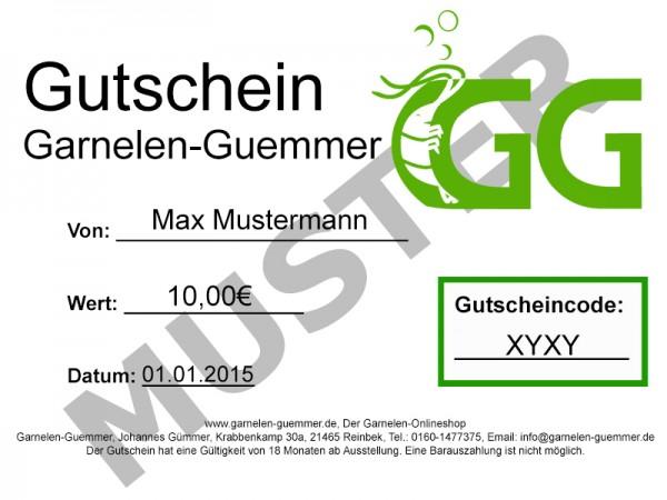 Garnelen-Guemmer Gutschein 10 Euro