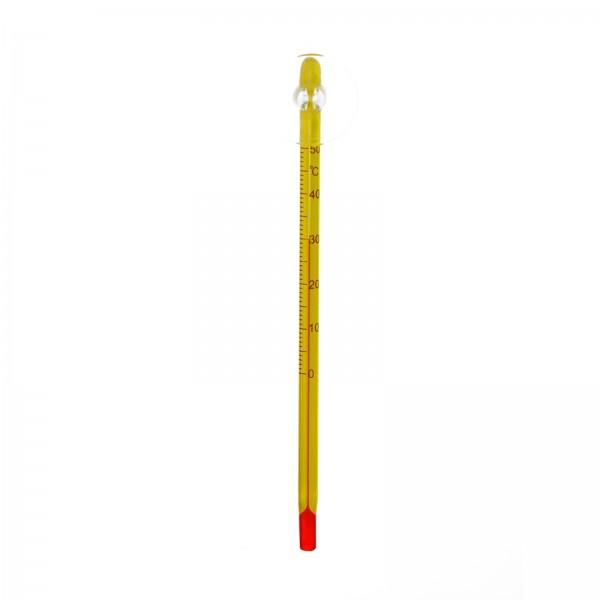 Precisions Thermometer dünn, gelb